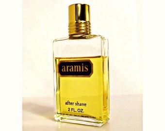 Vintage 1980s Aramis by Aramis 2 oz After Shave Splash MEN'S COLOGNE