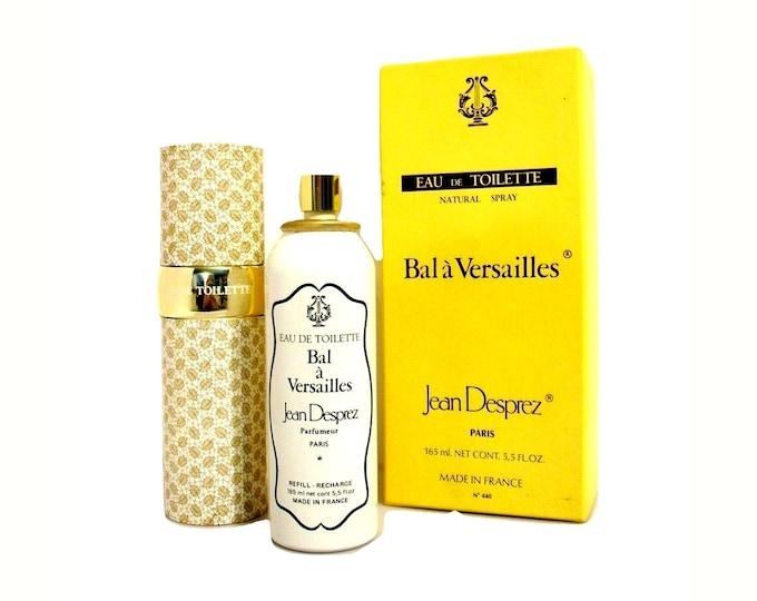 Vintage Bal a Versailles Perfume by Jean Desprez 5.5 oz Eau de Toilette Refillable Spray 1980s Formula
