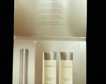 Vintage 1990s Contradiction by Calvin Klein Eau de Parfum and Bath Collection Sample Packet PERFUME