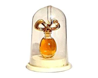 Vintage 1990s Diamonds and Rubies by Elizabeth Taylor 0.12 oz Parfum Mini Miniature & Box PERFUME