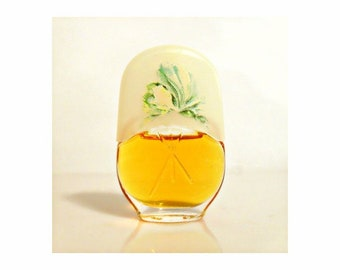 Vintage Mini Perfume 1980s Le Jardin by Max Factor 0.12 oz Parfum Miniature Bottle