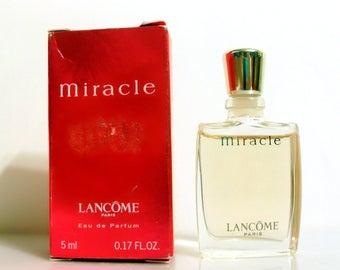 Vintage Miracle by Lancome 0.17 oz Eau de Parfum Mini Miniature Perfume and Box