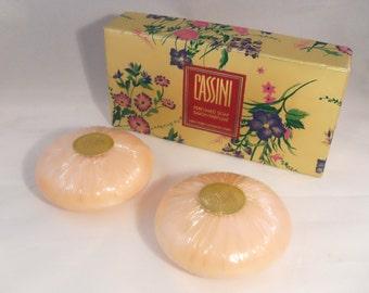 Vintage 1990s Cassini by Oleg Cassini Perfumed Soap Gift Set