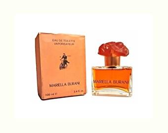 Vintage 1990s Mariella Burani by Mariella Burani 3.4 oz Eau de Toilette Spray  & Box Discontinued PERFUME