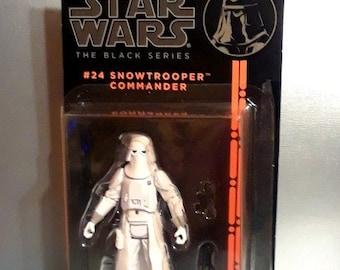 "Star Wars Black Series Snowtrooper Commander 3.75"" Action Figure"