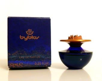 Vintage 1990s Byblos Pour Femme 0.25 oz Eau de Parfum Miniature Mini and Box PERFUME