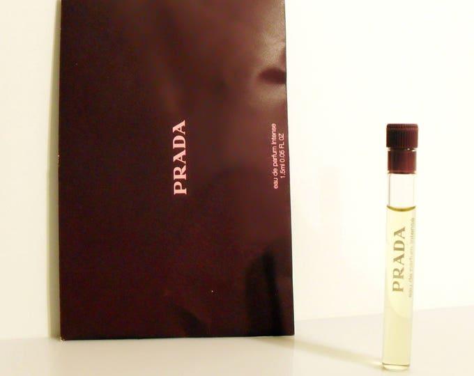 Prada Intense by Prada 0.05 oz Eau de Parfum Intense Sample Vial on Card PERFUME