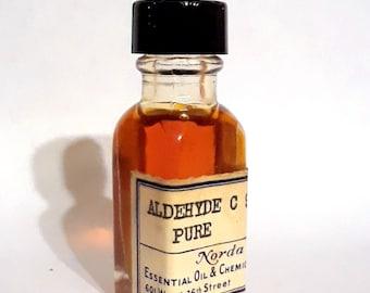 Vintage 1930s 5ml Aldehyde C9 Pure Nonanol PERFUME BASE Waxy Rose Fatty Fragrance Creation Essential Oil Perfumery Making