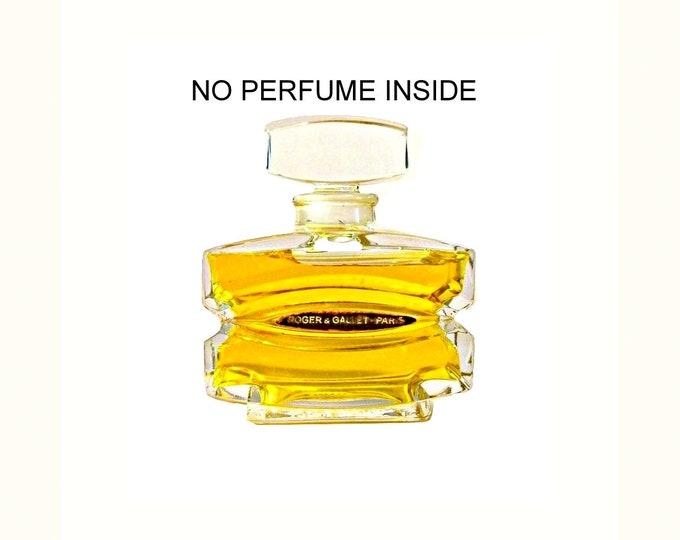 Antique Fugue Perfume by Roger et Gallet Parfum Vintage 1930s Baccarat Crystal Bottle