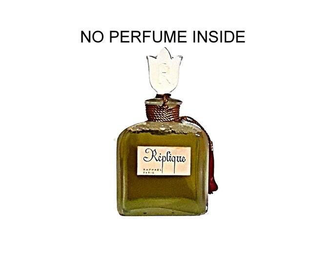 Vintage Perfume 1950s Replique by Raphael 3 oz Parfum FACTICE Dummy Perfume Bottle