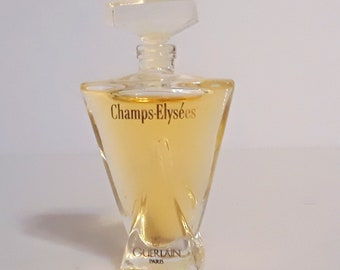 Vintage 1990s Champs Elysees by Guerlain 0.17 oz (5ml) Eau de Toilette Mini Miniature Perfume Splash