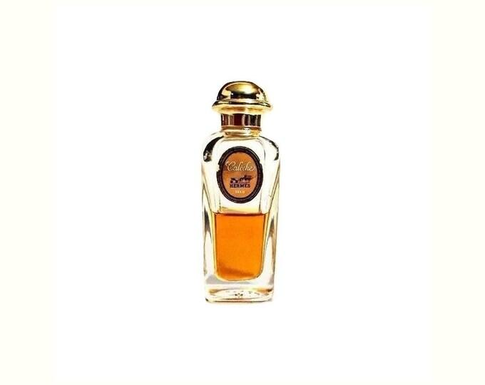 Vintage Caleche by Hermes Perfume 1 oz (30ml) Pure Parfum Extrait Splash 1960s Original Formula