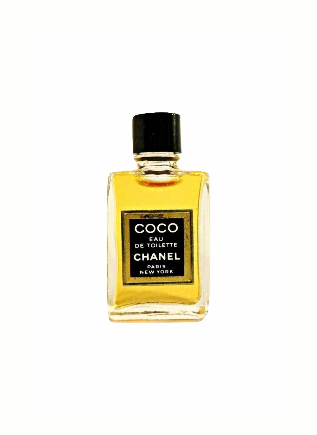 Vintage 1980s Coco By Chanel 013 Oz Eau De Toilette Splash Mini