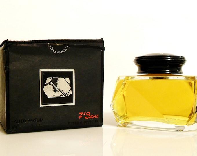 Featured listing image: Vintage Chypre Perfume 1980s Septieme Sens 7e Sens by Sonia Rykiel 3.4 oz Eau de Parfum Splash & Box Discontinued Women's Fragrance