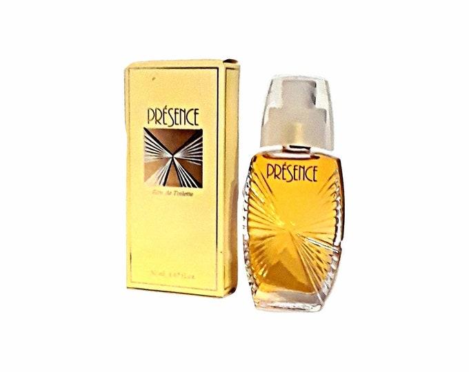 Vintage Presence Perfume by Parfums Parquet 1.67 oz (50ml) Eau de Toilette 1990s Spray