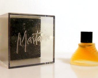 Vintage 1990s Montana Parfum d'Elle 0.07 oz Eau de Toilette Mini Miniature and Box PERFUME