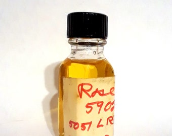 Vintage 1970s 12ml Rose PERFUME BASE Accord Creation Essential Oil Perfumery Making