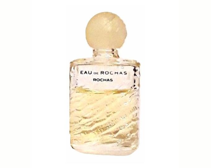 Vintage Eau de Rochas by Rochas Perfume 0.13 oz Eau de Toilette 1990s Mini Miniature