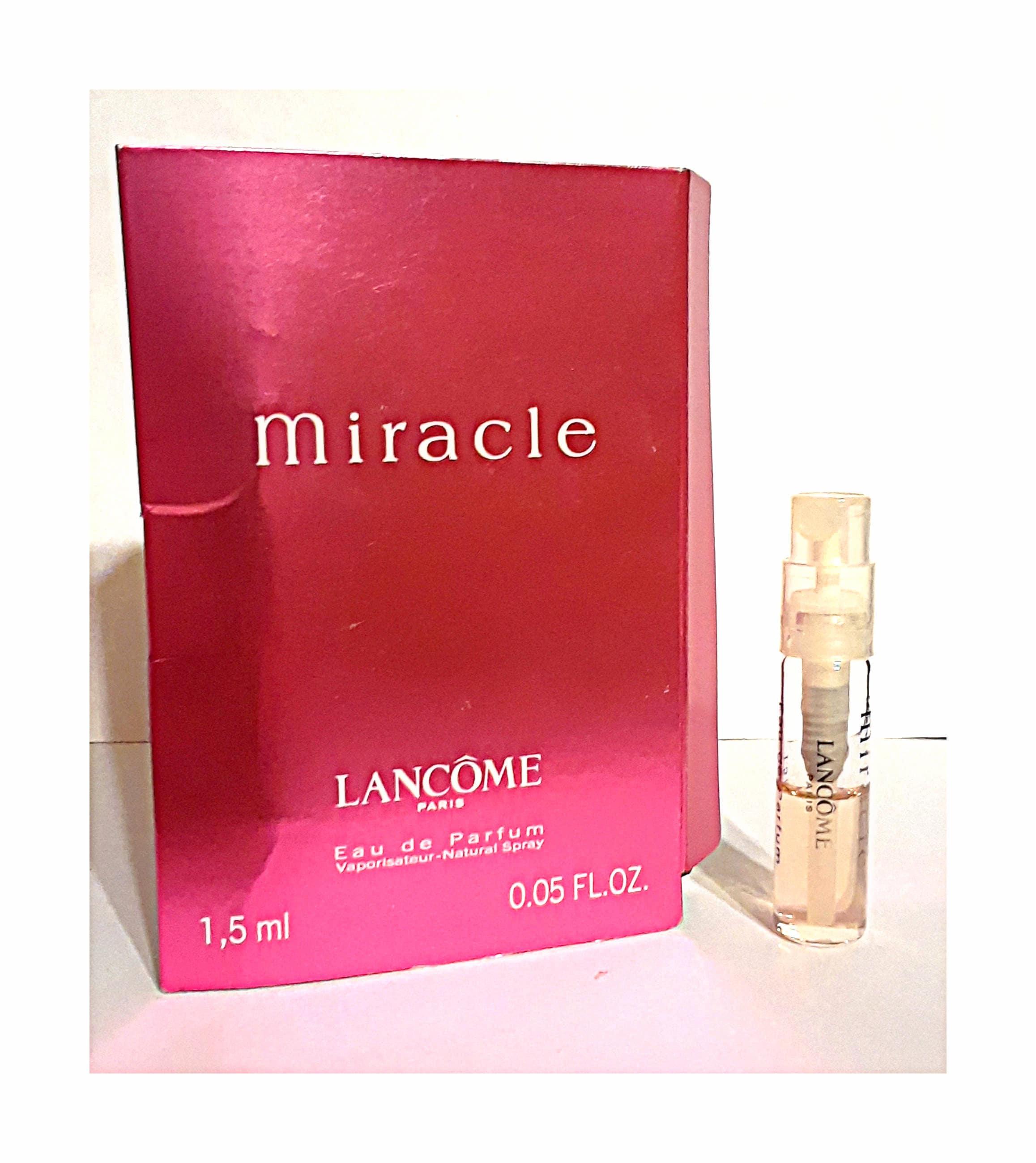 Spray Miracle Parfum By On 0 05 De Lancome Oz Vial Sample Eau 0wknOP