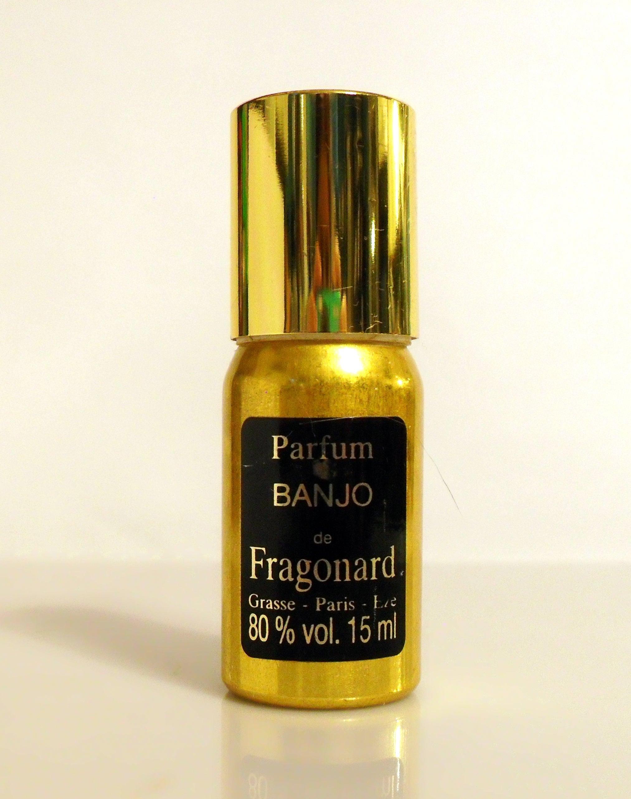 Vintage 1980s Banjo By Fragonard 05 Oz Pure Parfum Splash Mini