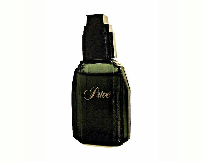 Vintage 1980s Prive by Saks Fifth Avenue 0.17 oz Cologne Mini Miniature
