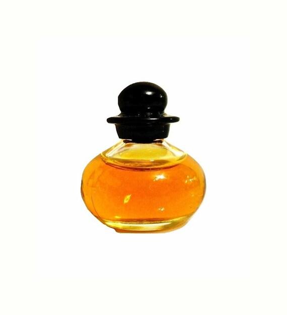 Vintage Mini Perfume 1990s Basic Black by Bill Blass 18 oz Pure Parfum Splash Miniature