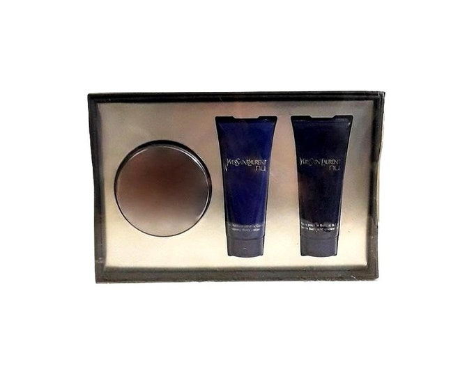 Vintage Nu by Yves Saint Laurent Perfume Gift Set 1.6 oz Eau de Parfum Shower Gel and Body Lotion