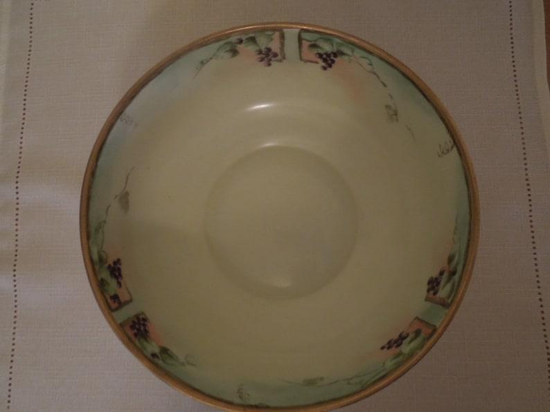 Antique PorcelainBowl MZ Zdekauer Made in Austria