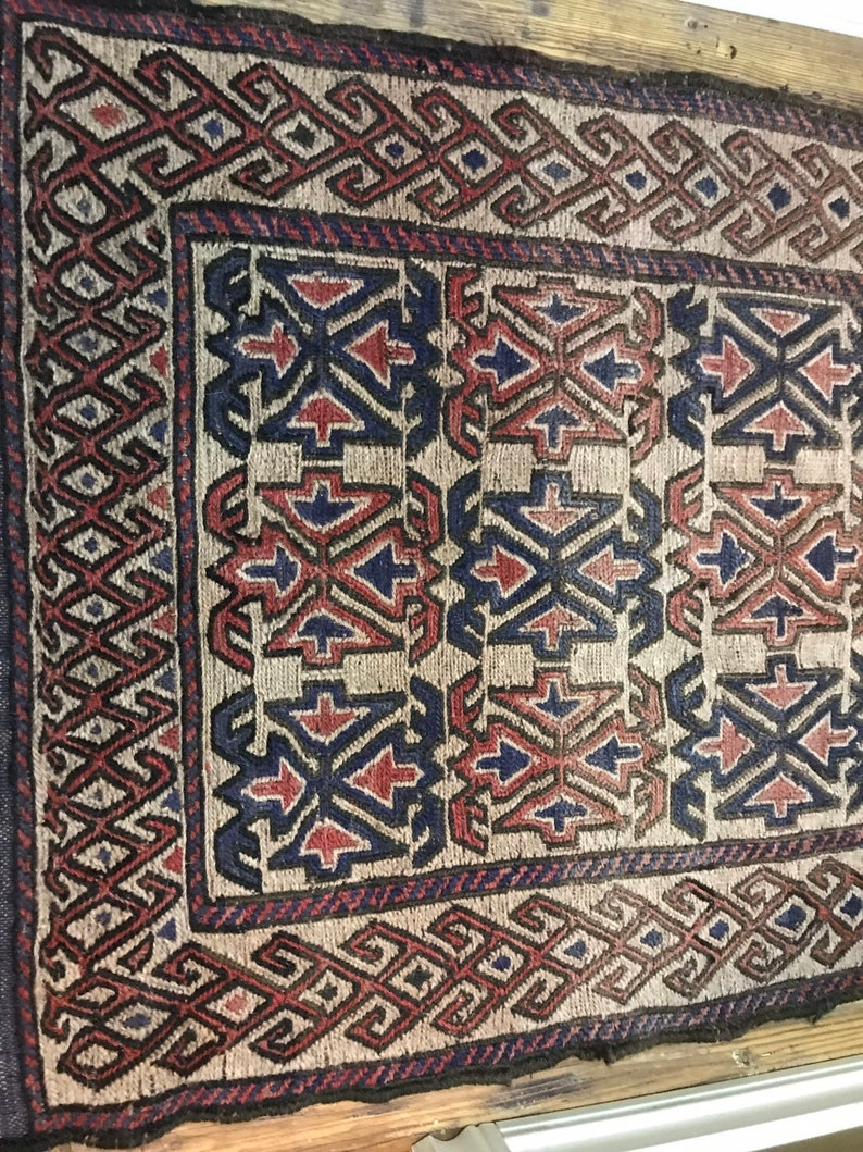 Middle Eastern Area Rug 55 x 29.5