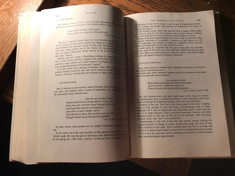 Asimov's Guide to Shakespeare Volume One - The Greek, Roman and Italian  Plays