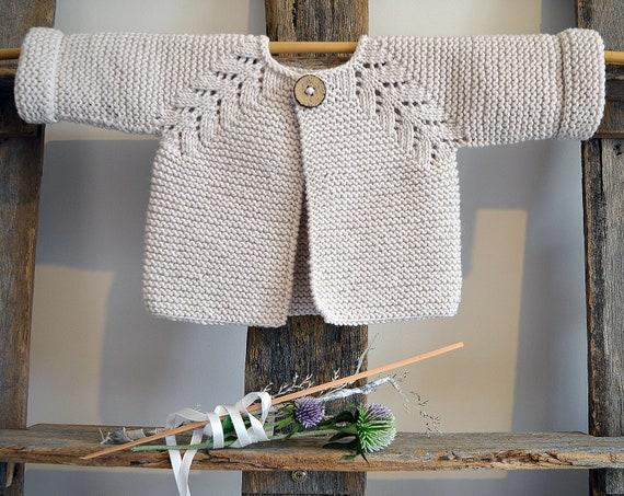 Knitting Pattern Norwegian Fir Top Down Cardigan P109 Etsy