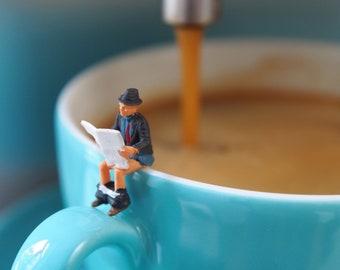 Kaffeefahrt – Foto auf Holz