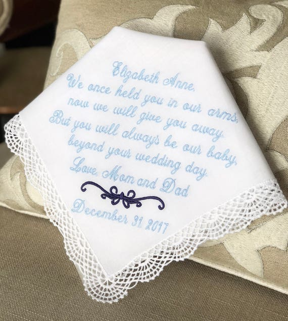 Wedding Gift For Bride From Parents Gift From Mom Dad We Etsy
