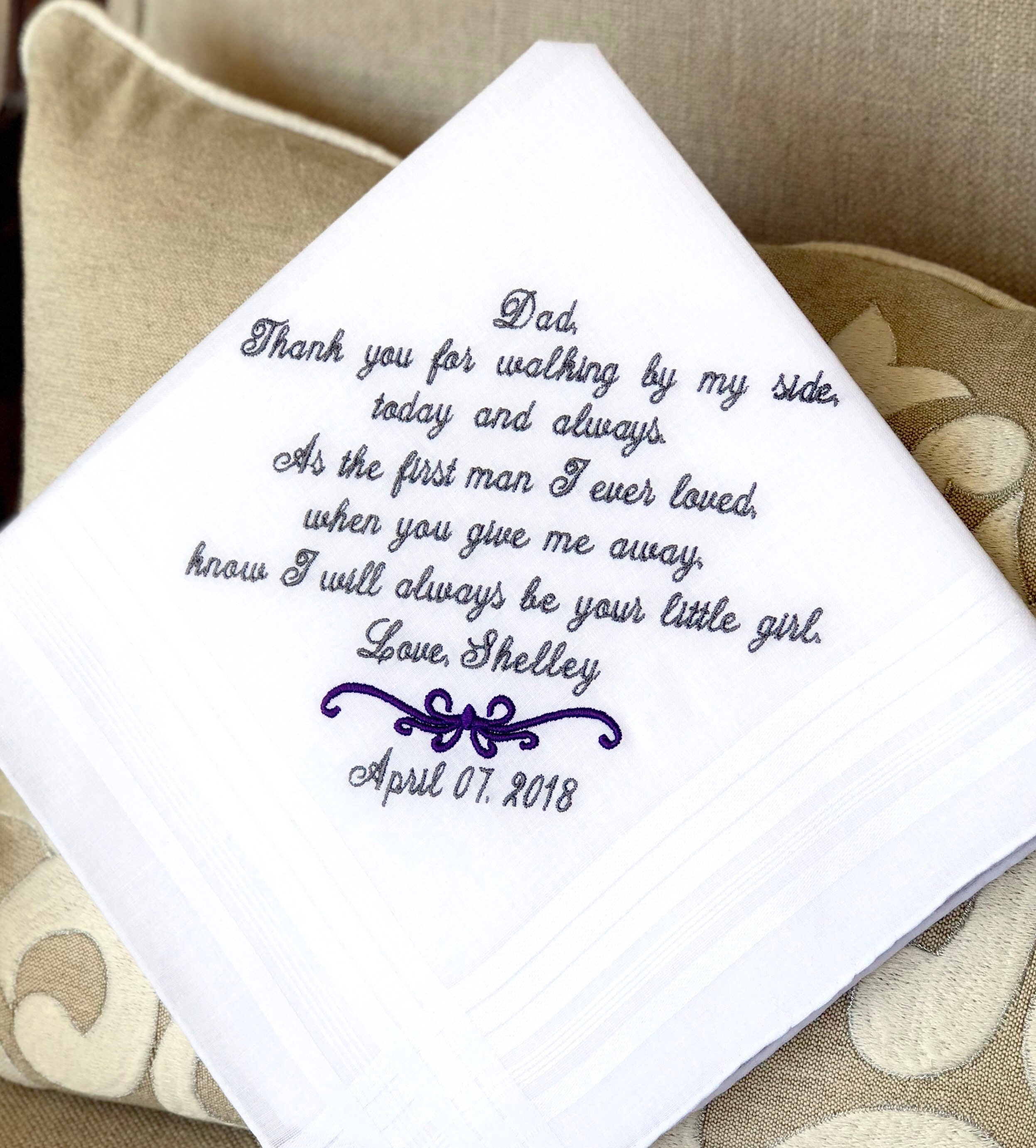 Father Of The Bride Gift Wedding Gift For Dad WALKING My