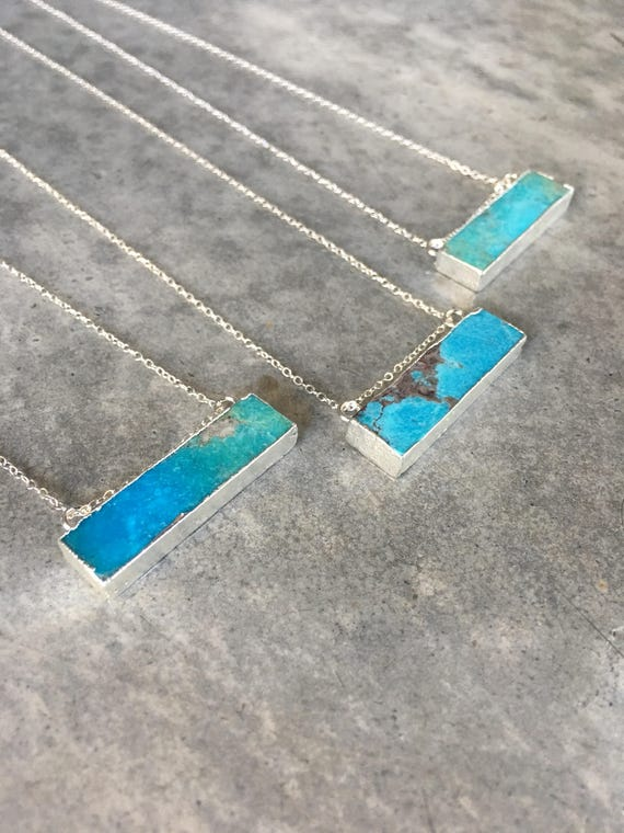 Turquoise necklaces, turquoise jewelry, birthstone jewelry, boho jewelry, boho wedding, festival jewelry