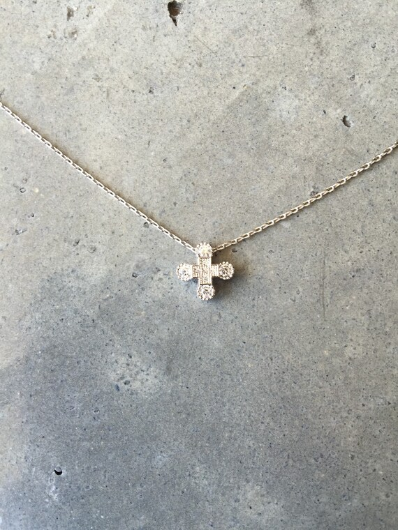 Cross necklace, personalized, wedding, bridesmaids jewelry, flower girl, brides necklace, holiday jewelry