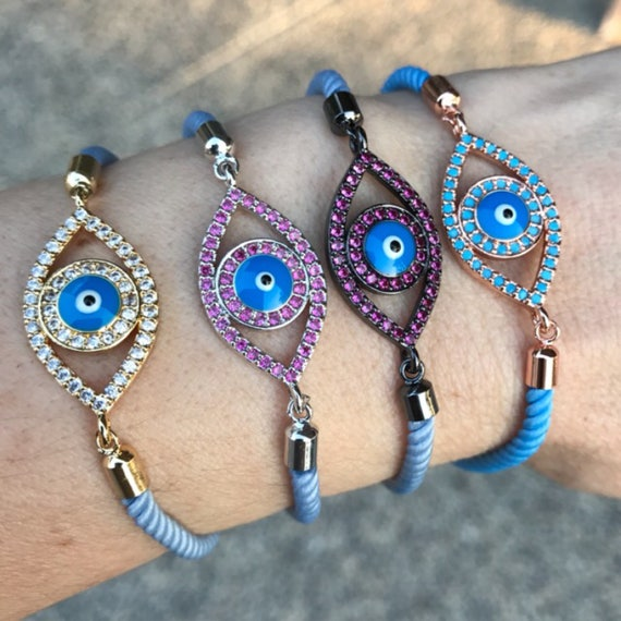 Evil Eye Bracelets, boho jewelry, protection jewelry