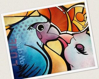 Giclée Print - KC Love Birds