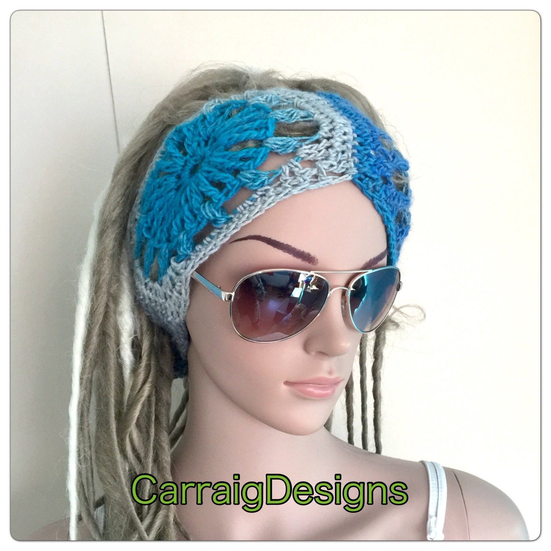 Designer unique headband womens teens handmade dread tube wrap hippy hippy  boho festival ear warmer yoga ski dreadlocks sock sale gift 99c62d84e2f1