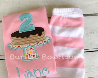 Pancake Pajamas - Personalized PJs - Pancake Personalized Birthday Shirt - Personalized Pancake Shirt - Pancake Birthday -Pancake Applique