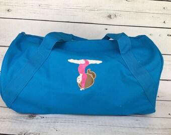 f37b3432d684 Personalized Gymnastics Bag - Monogrammed Gymnastics Bag - Gym Bag - Gymnast  Bag - Personalized Bag - Duffel Bag