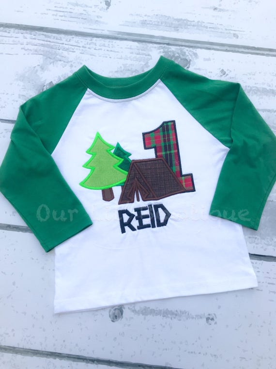 Woodland Birthday Shirt