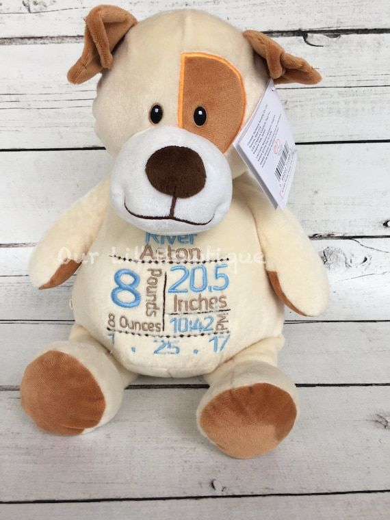 Personalized Baby Stuffed Animals, Personalized Stuffed Animal Subway Art Baby Gift Personalized Cubbie Birth Announcement New Baby Personalized Baby Gift Dog By Our Lil Bowtique Catch My Party