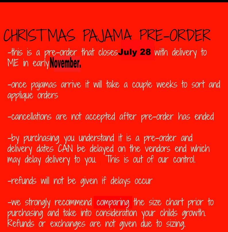 Reindeer Pajamas Reindeer PJS- Girls Christmas Pajamas Boys Christmas Pajamas PRE-ORDER Christmas Pajamas Christmas PJs