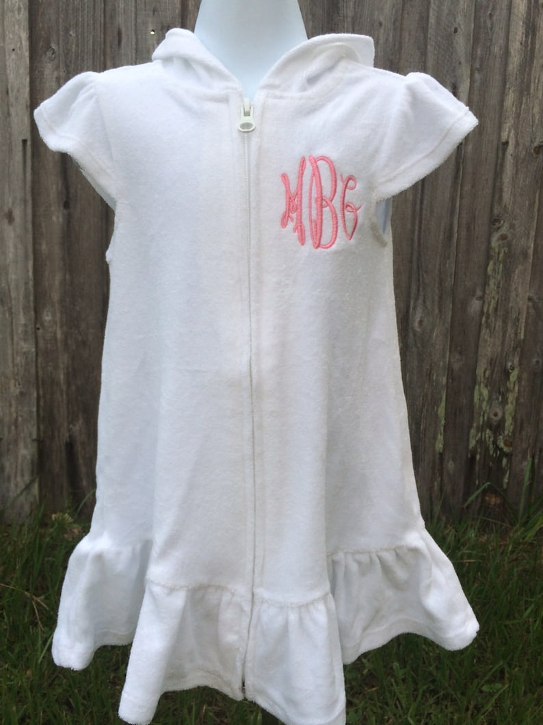 2c9c802d119f4 Personalized Toddler or Girl Bathing Suit Cover up Bathing