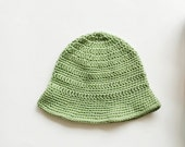 Cute Summer Hat Crochet for kids / toddlers.  Sun hat. Made to order.