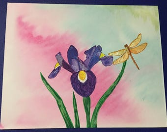 Iris and the dragonfly