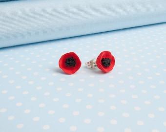 Poppy Stud Earring