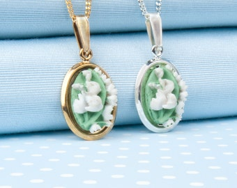 Lily of the valley Pendant Necklace