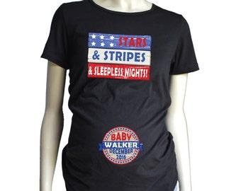 fee6372e20aa1 4th of July MATERNITY Shirt